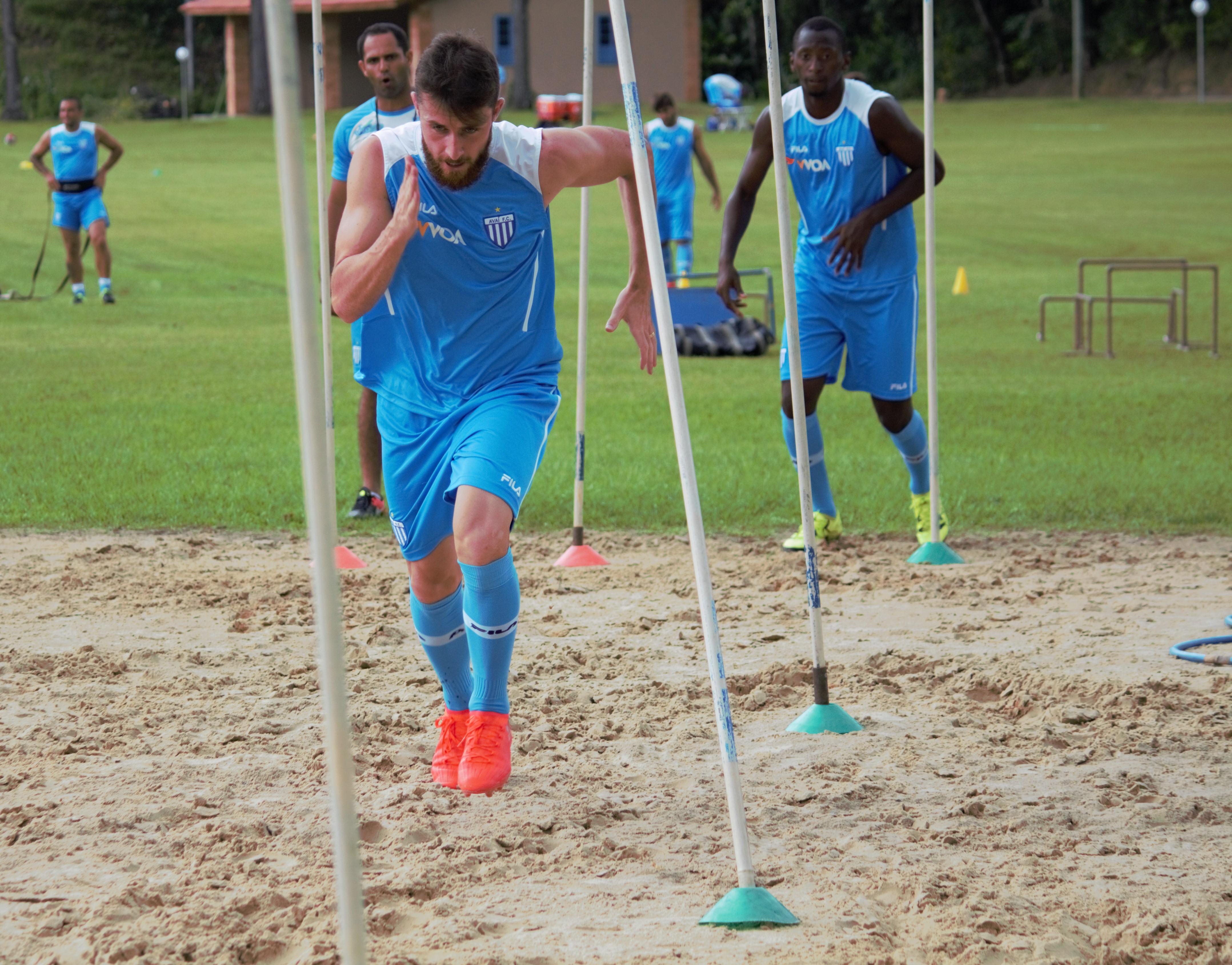 Avaí segue forte na preparação física
