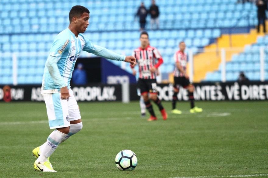 Luan Martins entrou no jogo Avaí 1 x 1 São Paulo brasileirão 2017 (Foto: Jamira Furlani / Avaí F.C.)