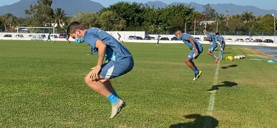 Avaí realizou treino técnico na manhã desta quarta-feira no Guarani