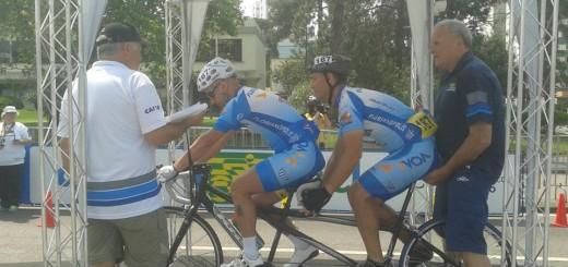 Foto Paraciclismo Curitiba Largada