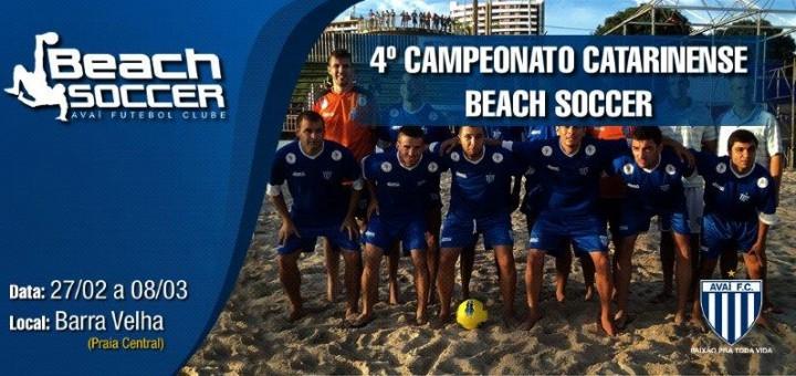 4º Campeonato Catarinense Beach Soccer
