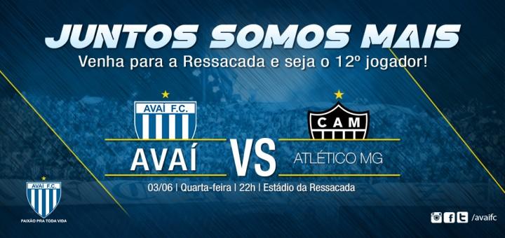 Serviço do jogo - Avaí x Atlético MG