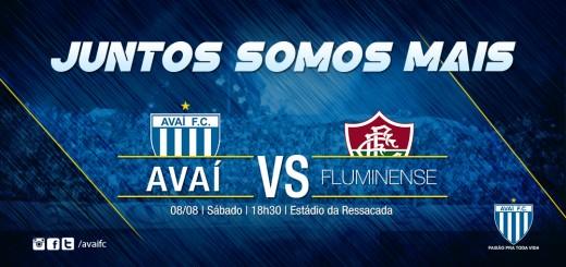 Serviço do jogo - Avaí x Fluminense (Site)