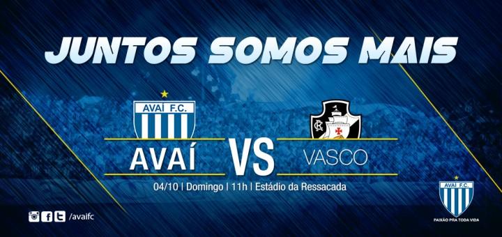 Serviço do jogo - Avaí x Vasco (Site)