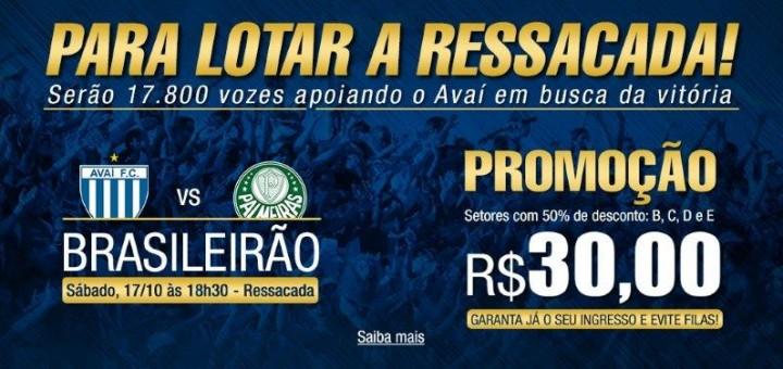 Serviço do jogo - Avaí x Palmeiras
