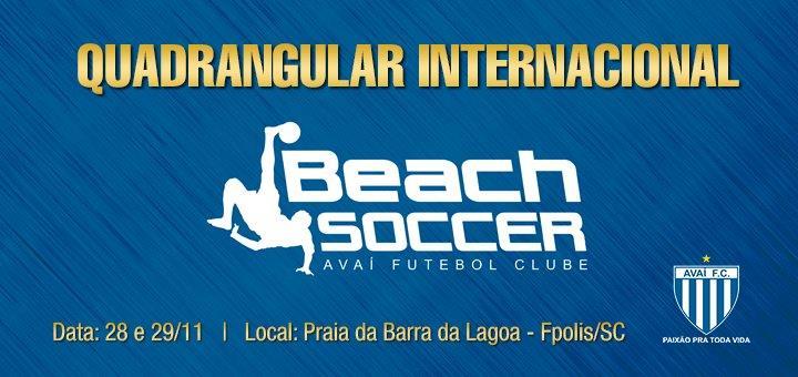 Quadrangular Beach Soccer