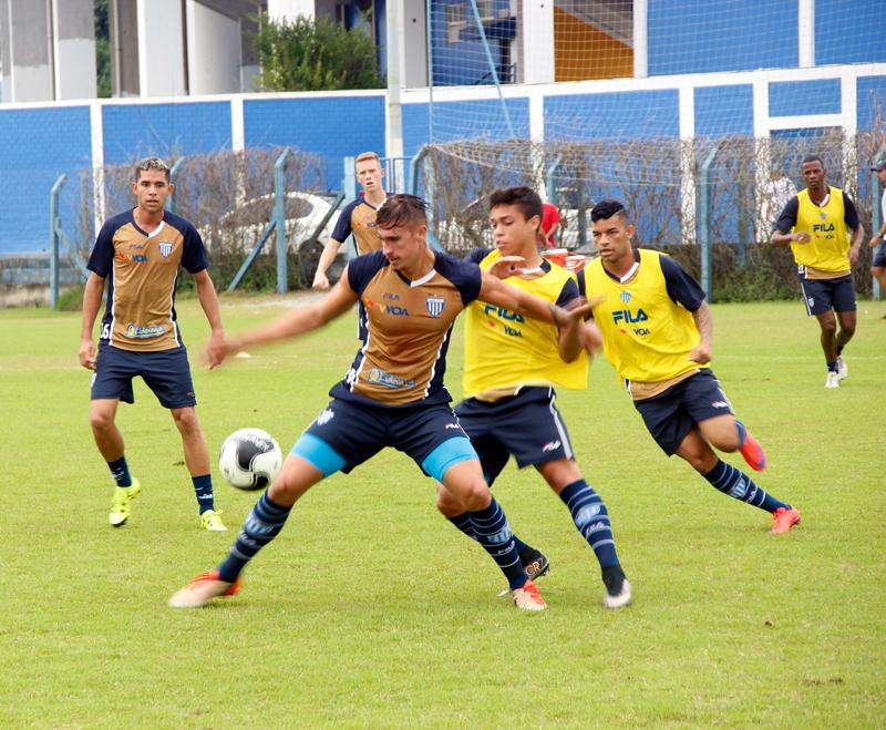 Avaí: Elenco se reapresenta e treina forte no CFA
